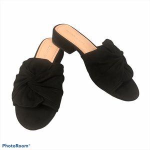 Madden Girl Goodies Black Bow Women's Sandals